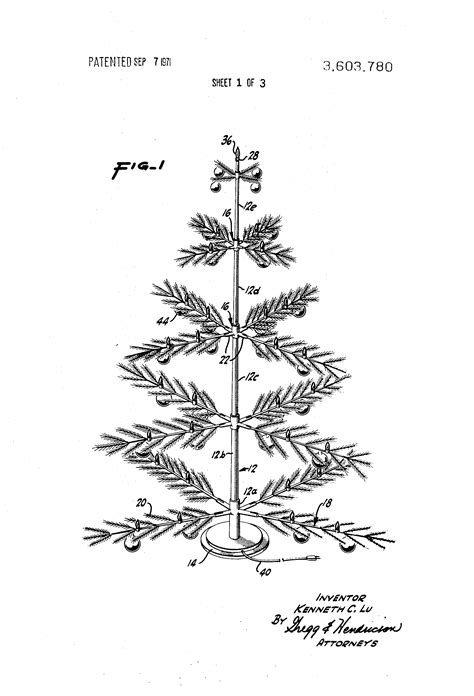 patent us3603780 artificial tree structure google patents