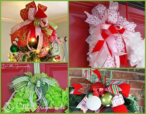 easy bow  wreaths  door hangers