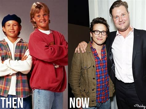 the boys from home improvement then and now the frisky