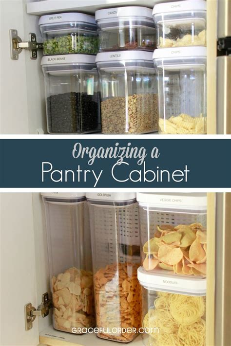 how deep is a pantry cabinet use containers for chips grains cereals use turn