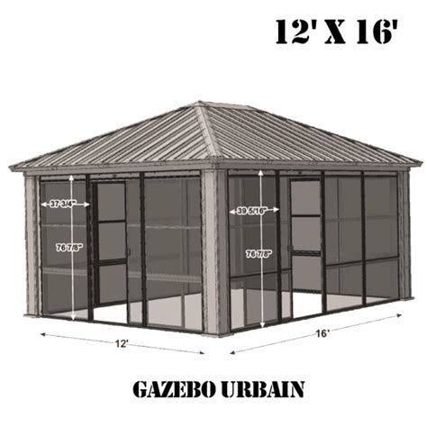 gazebo veranda emejing gazebo veranda jardin photos design trends 2017