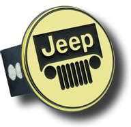 Emblem Jeep Warna Gold automotive gold t jee g jeep grille logo 2 quot hitch in gold quadratec