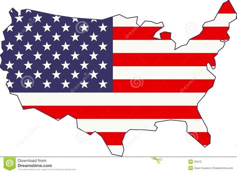 america s american map and flag stock photos image 30413