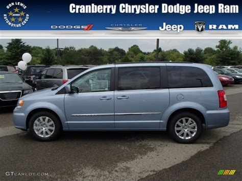 chrysler town and country colors 2013 blue pearl chrysler town country touring