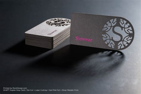 Laser Cut laser cut business cards business card design