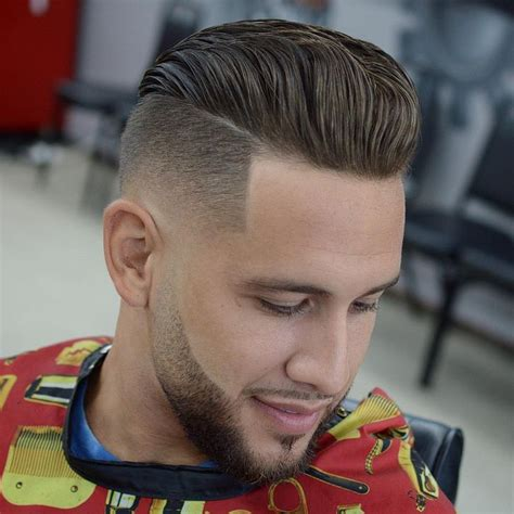 how to give myself the best hairstyle with a widows peak for men 573 best images about men s fades and short back sides on pinterest hair hairstyles and men