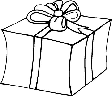 present coloring page gifts presents coloring page get coloring pages
