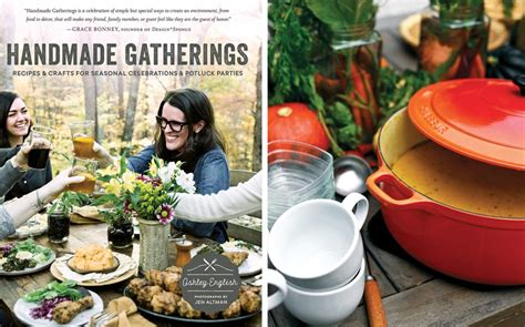 Handmade Gatherings - handmade gatherings cookbook giveaway southern magazine