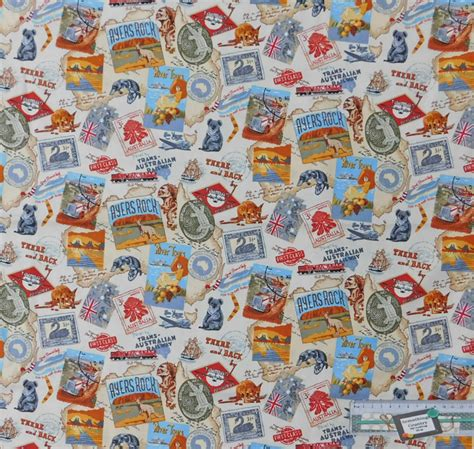Patchwork Fabric Australia - quilting patchwork sewing fabric australian gold 2 cotton