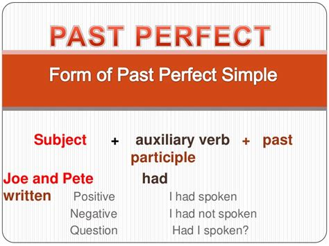 perfecting the past in past perfect my english classes