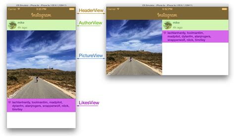 view layout subviews ios adaptive layouts in code
