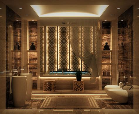 Luxurious Bathtub by Luxurious Bathrooms With Stunning Design Details