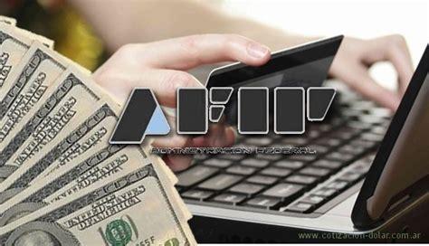 dlar ahorro y gastos en el exterior la afip oficializ d 243 lar ahorro cotizaci 243 n d 243 lar