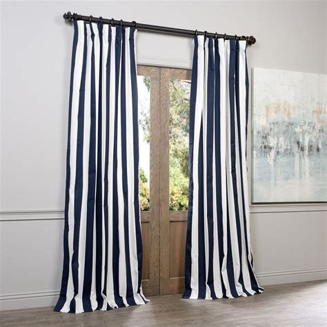 striped cotton curtains 25 best ideas about blue striped curtains on pinterest