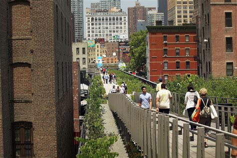 new york s high line park a marvel of vision co operation