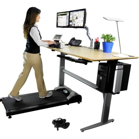Walking Computer Desk It S How Physically Demanding An Office Is Ign Boards