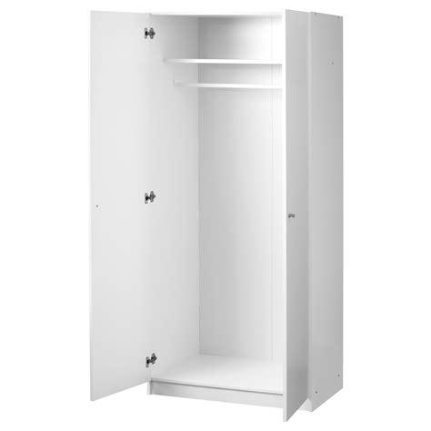 white ikea wardrobe bostrak wardrobe white 80x50x180 cm ikea