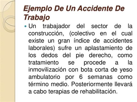 calculo de la incapacidad por accidente de trabajo accidente de trabajo ejemplo