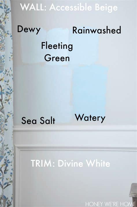 honey we re home choosing paint for the dining room sherwin williams sea salt