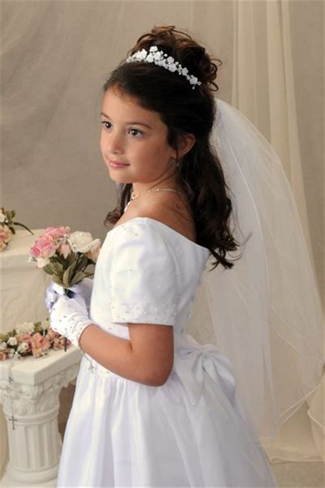 down hairstyles for communion best 25 first communion hair ideas on pinterest