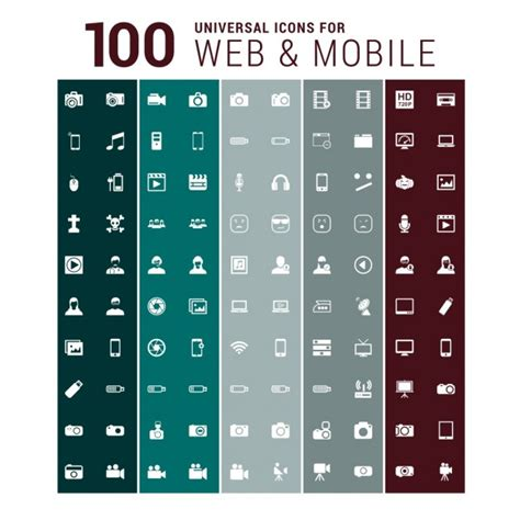 scaricare web gratis 100 icone web scaricare vettori gratis