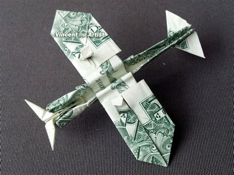 Fighter Plane Origami - click picture to enlarge