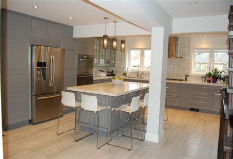 Kitchen Island Toronto by Ikea Kitchen Bodbyn Grey Klassisk K 246 K Toronto Av