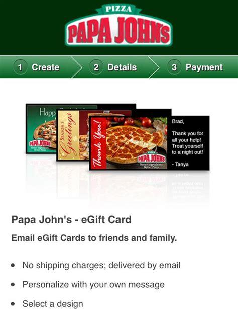 How To Use Papa John S Gift Card Online - jim ensign vice president of global digital marketing at papa john s international