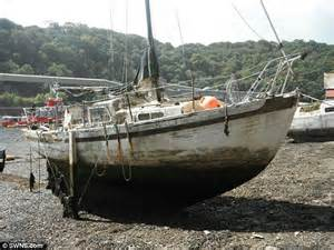 fishing boat maintenance costs fowey harbourmaster says ports are littered with sunken