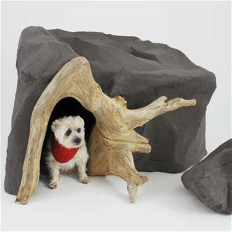 outrageous dog houses cave dogs 6 outrageous doghouses this old house