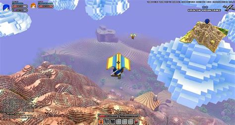 sailboats zelda new cube world video features hang gliders and sailboats
