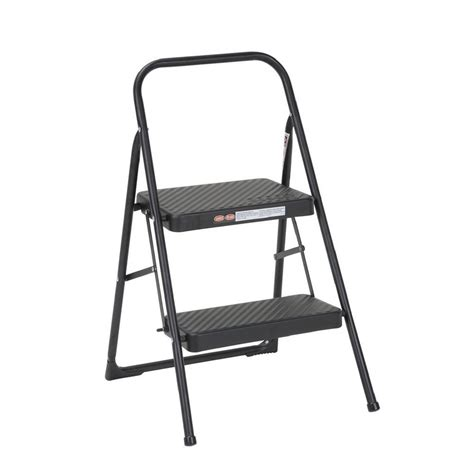 Gorilla Ladders 2 Step Compact Steel Step Stool by Gorilla Ladders 2 Step Compact Steel Step Stool With 225