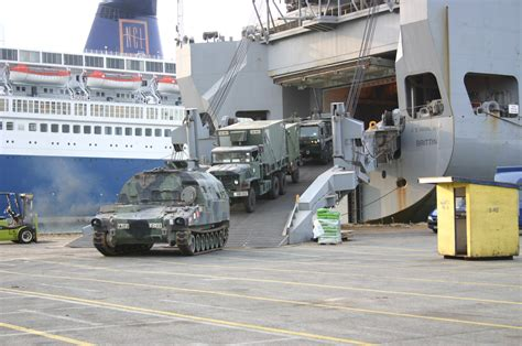 Army Car Shipping Ports by Msc 2004 In Review Sealift Program