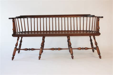 low settee philadelphia low back settee sch10 chris harter