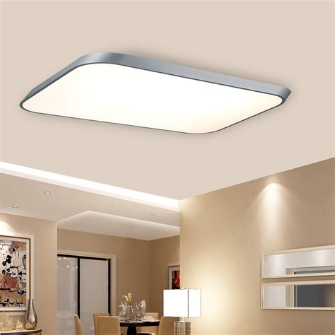 Contemporary Kitchen Ceiling Lights 42w Thin Led Flush Mounted Ceiling Modern Wall Kitchen Bathroom L Light