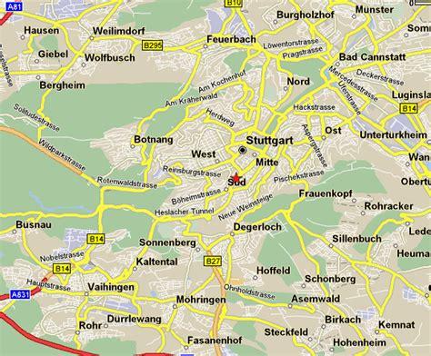 stuttgart map germany stuttgart map