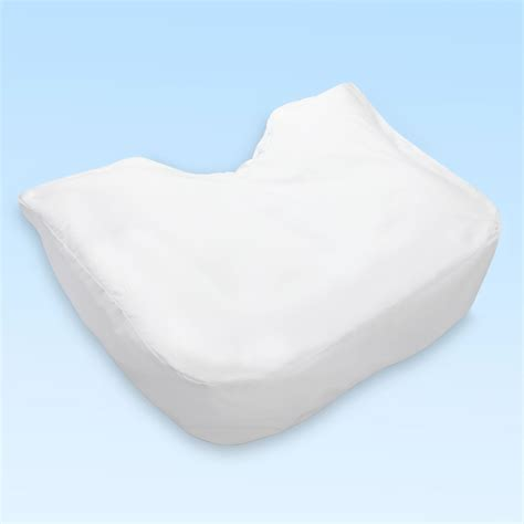 Ergonomic Pillow For Side Sleepers by Fitted Cotton Poly Pillow Cover For The Side Sleeper S