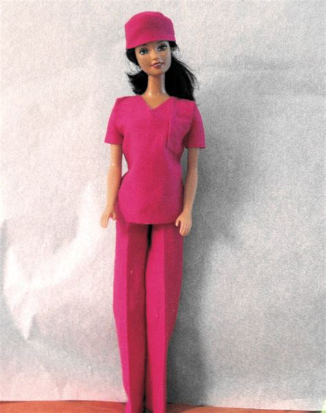 Handmade Scrubs - doll clothes handmade hospital scrubs