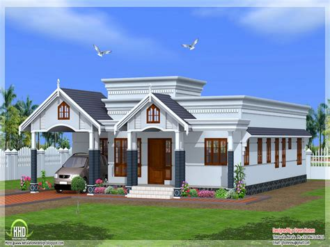 kerala style single storey house plans kerala single story house plans single story small house single bedroom house plans