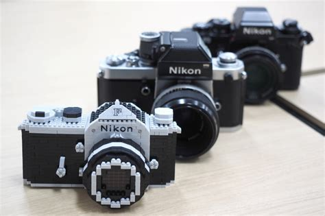 nikon model nikon f model nanoblock kit now available on ebay nikon