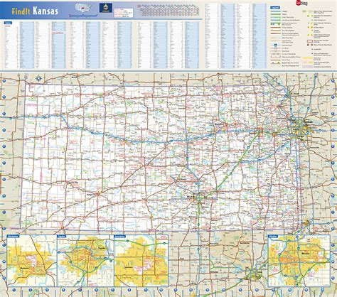Kansas Search Kansas State Wall Map By Globe Turner