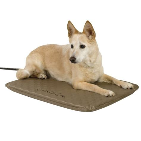 outdoor heated dog bed manufacturing lectro soft outdoor heated medium pets bond