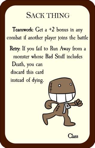 munchkin card template sack thing munchkin by memoski on deviantart