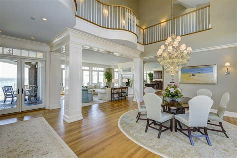 mansion interiors exquisite us bayfront estate inspiring positive holiday