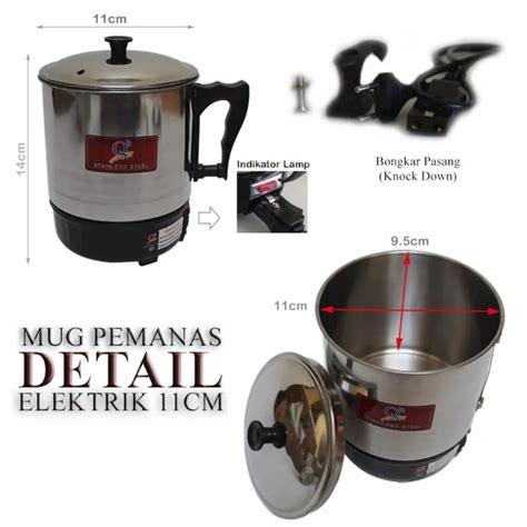 alat masak praktis mug elektrik panci elektrik teko