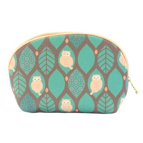 japanese owl pattern japan centre make up bag green owl pattern japan fan