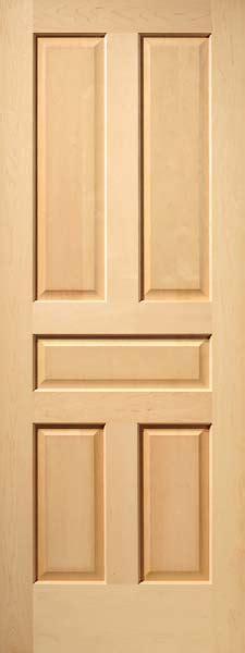 5 Panel Interior Wood Door Raised Panel Interior Wood Doors Craftsman Series