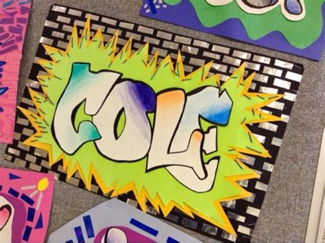 pattern art projects middle school art at becker middle school graffiti mola names how cool