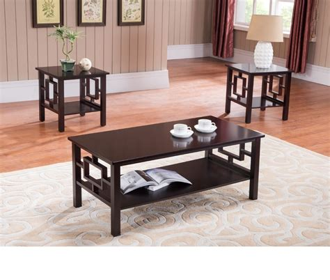 coffee table set living room furniture end contemporary