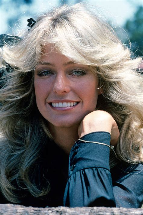 updated farrah fawcett hairstyle most iconic hairstyles of the past 50 years she said